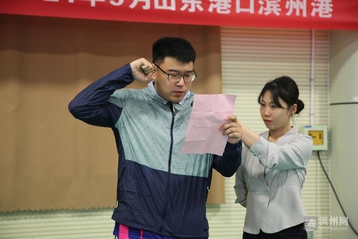 """山东港口渤海湾集团""""滨州港杯""""乒乓球比赛圆满闭幕"""