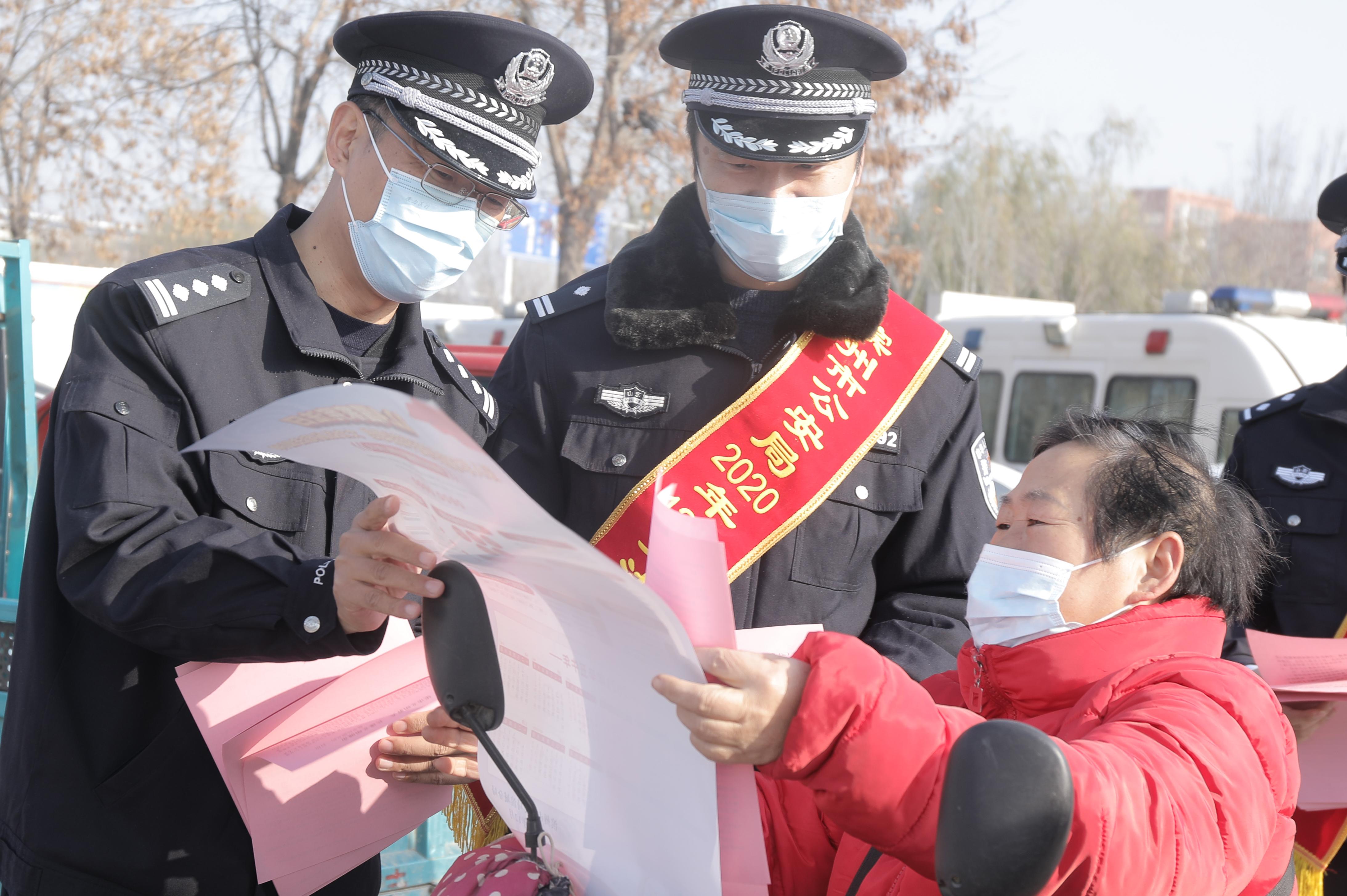 市區公安機關開展憲法宣傳進大集活動