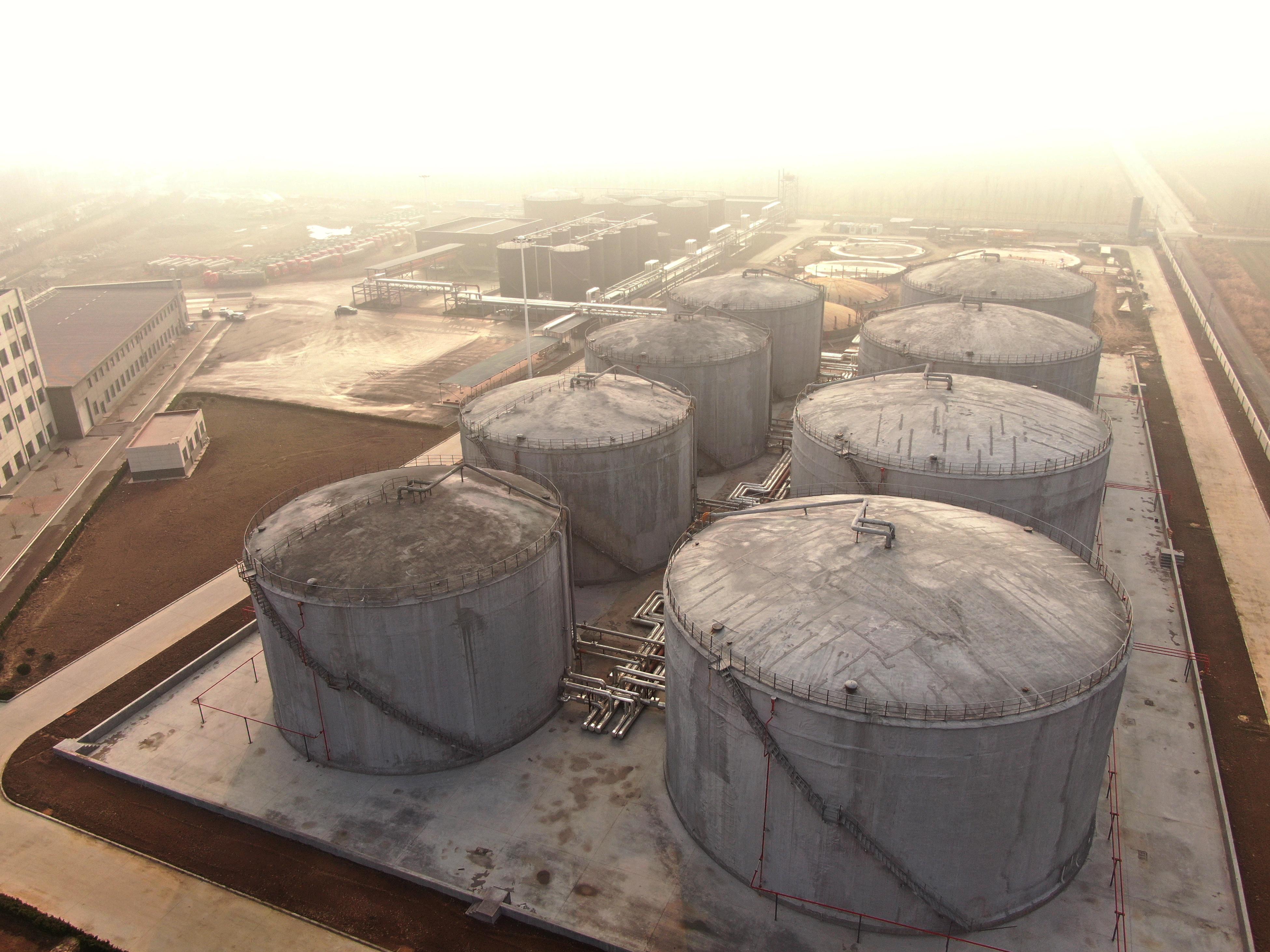 博昌5G智能仓储物流示范园区将建成山东省内较大沥青仓储基地