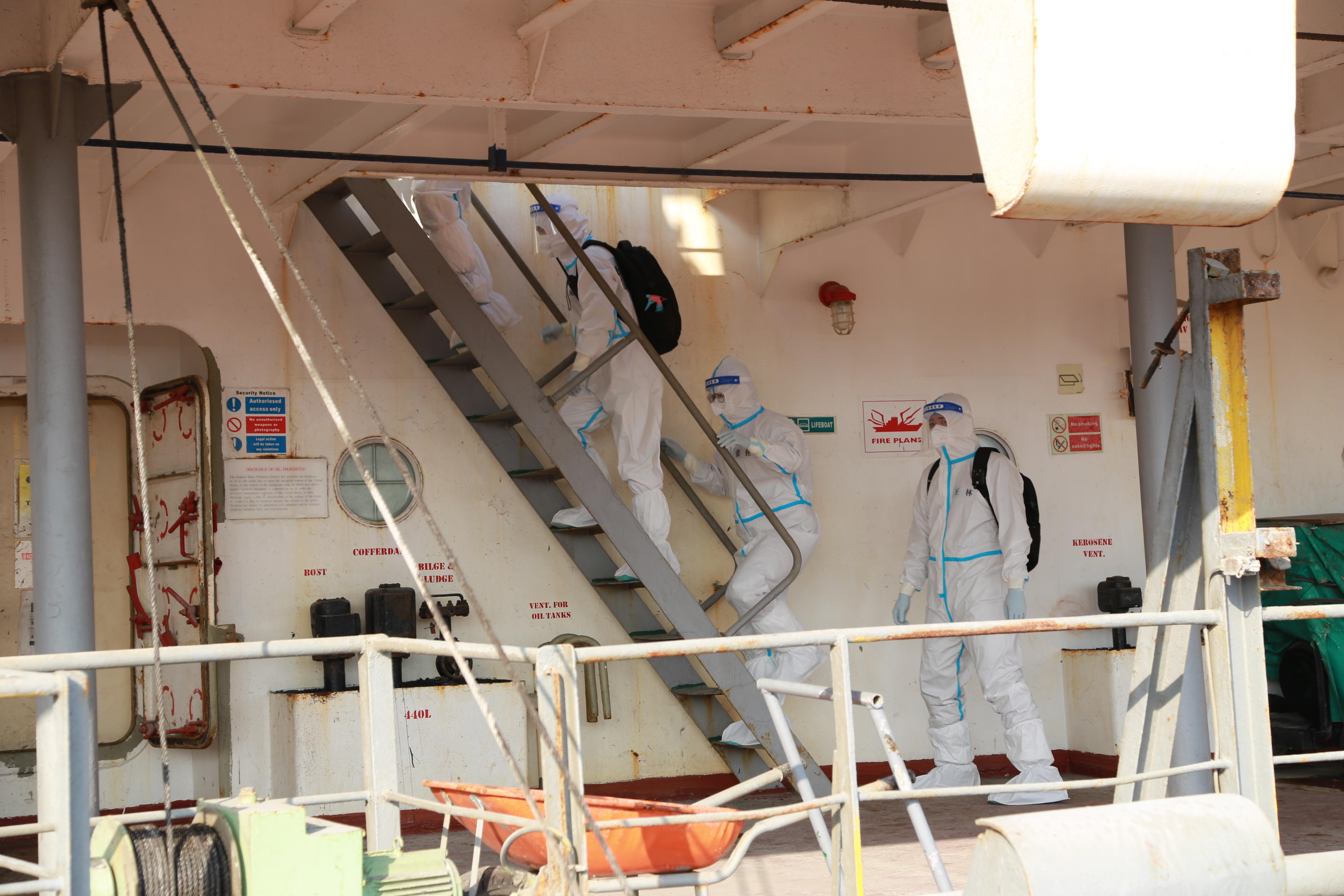 濱州海關順利完成濱州港今年首艘外輪檢疫