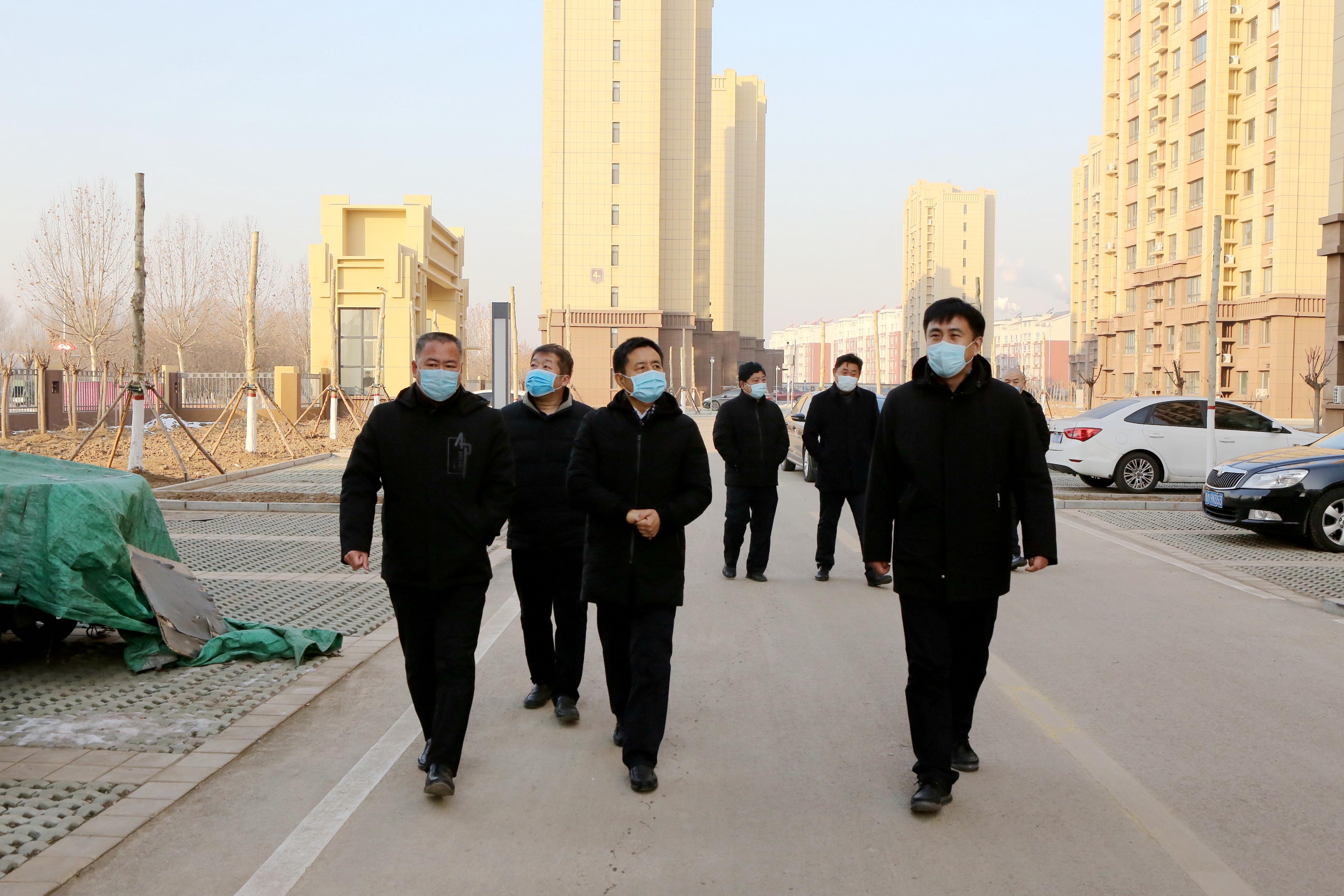 鄒平市領導到韓店鎮督導群眾取暖及寒潮天氣防范應對工作