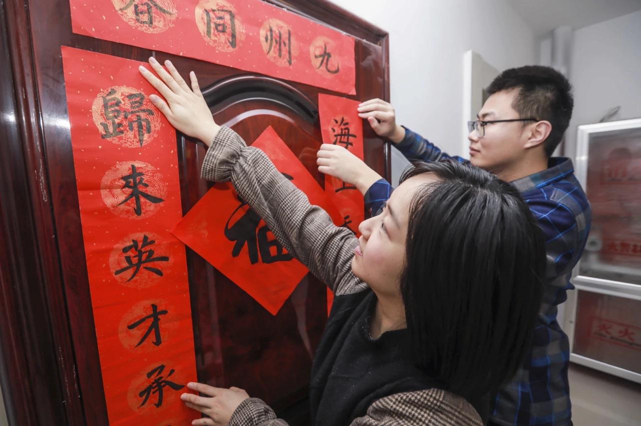 """【新春走基层】""""新滨州人""""清华研究生小夫妻在滨州的第一个新年"""