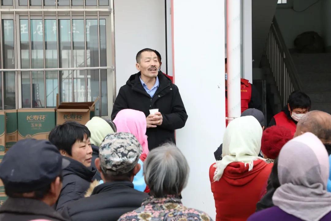 惠民县清河镇社区干部李金强:十年如一日 送福暖人心