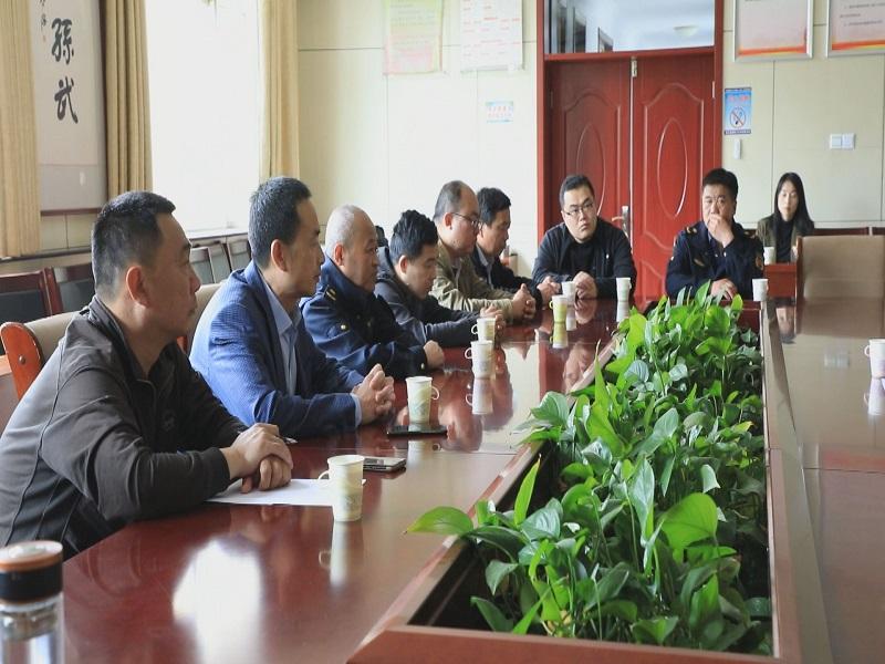 惠民县孙武街道联合执法助力营造良好人居环境