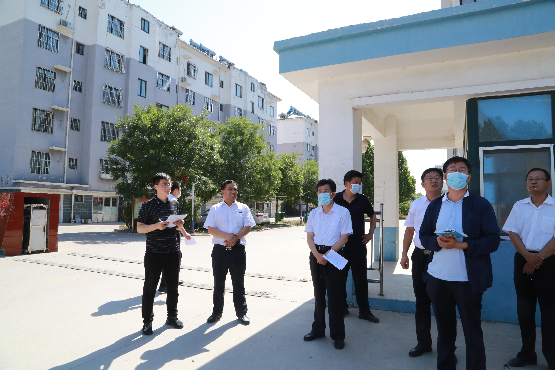 市领导督导全国文明城市创建和迎接国家卫生城市复审工作