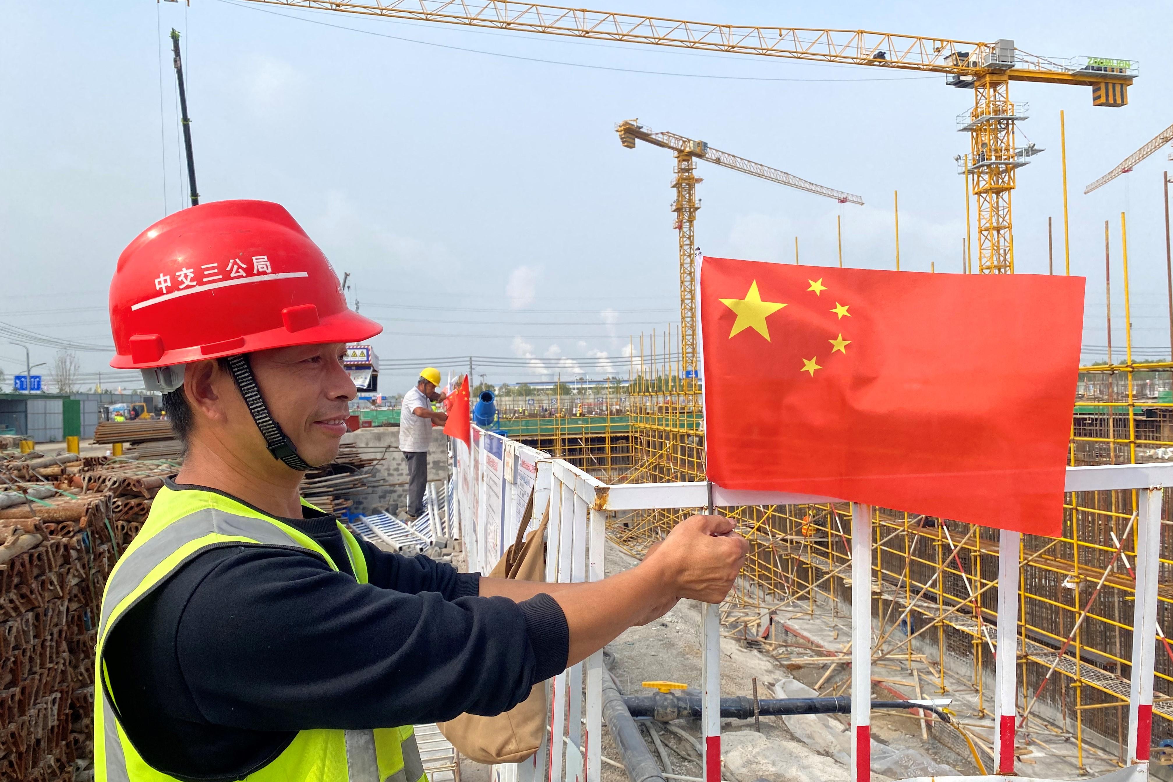 黄金周里建设忙 渤海先研院国际社区等重点项目进展顺利