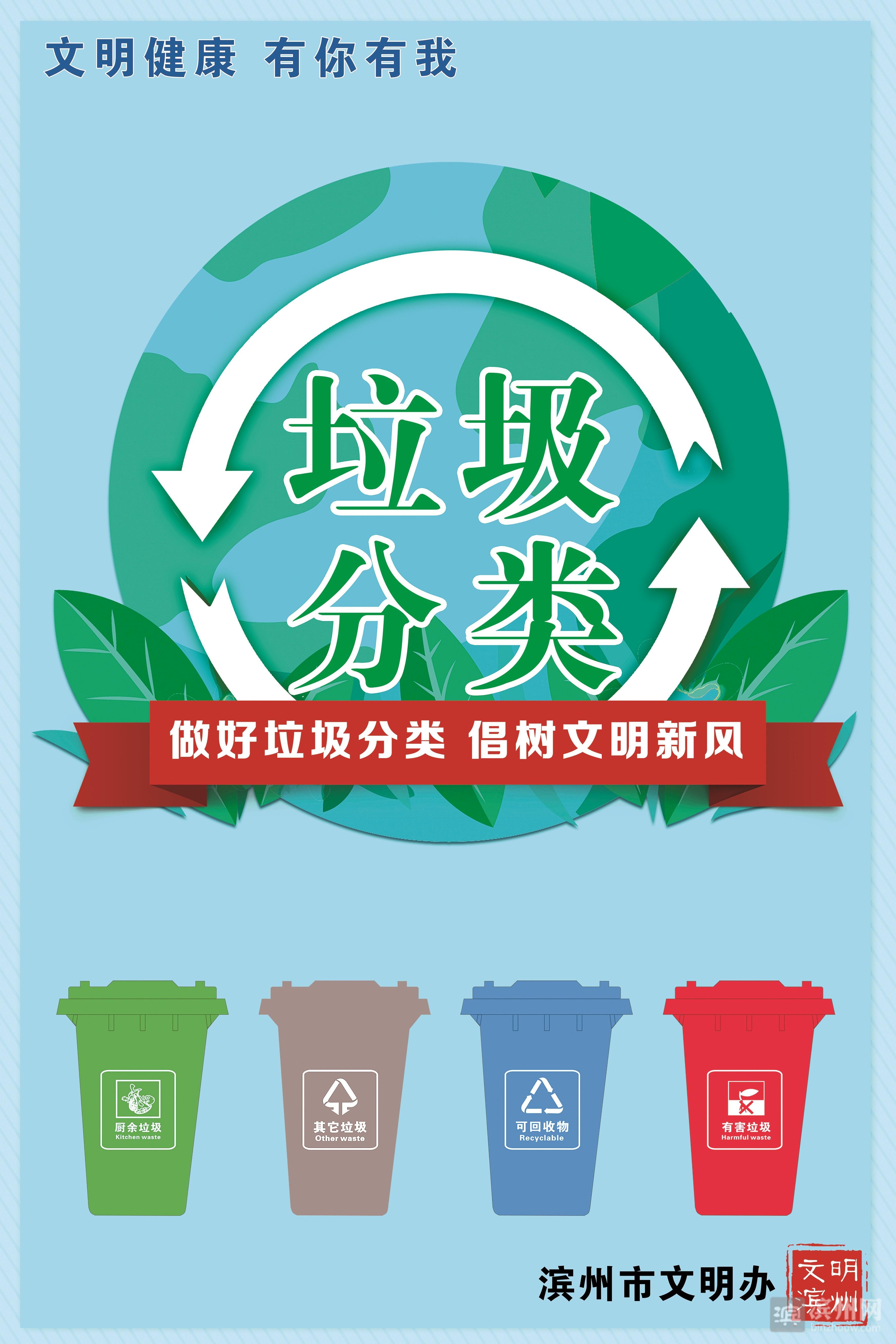 公益广告:做好垃圾分类 倡树文明新风