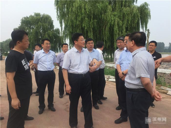 滨州市委副书记张凯专题调研黄河风情带旅游发展项目
